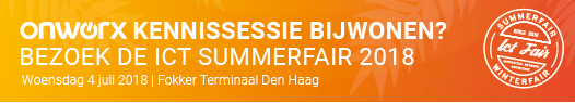 OnWorx kennissessie ICT Summerfair 2018